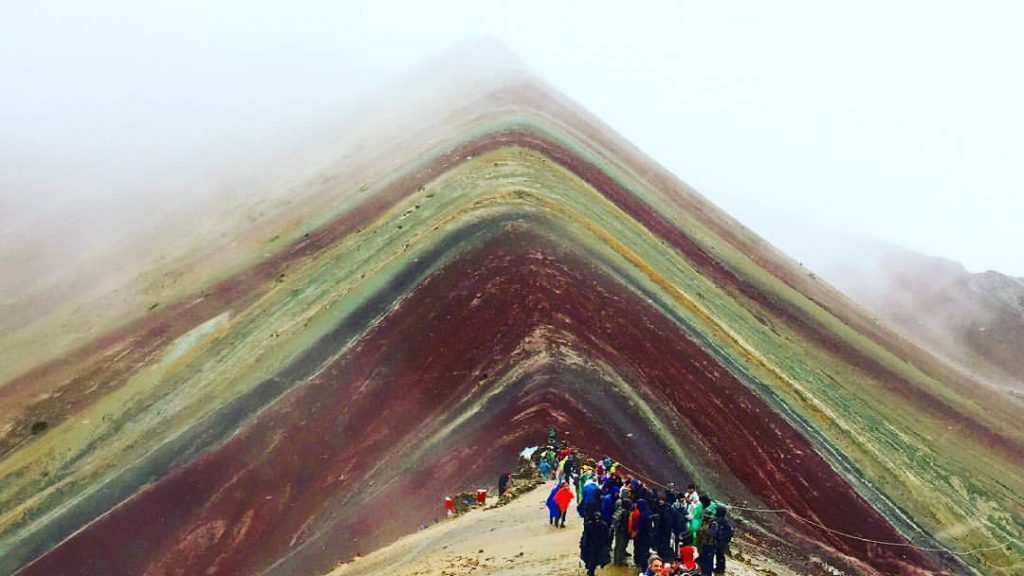 Rainbow Mountain, Peru