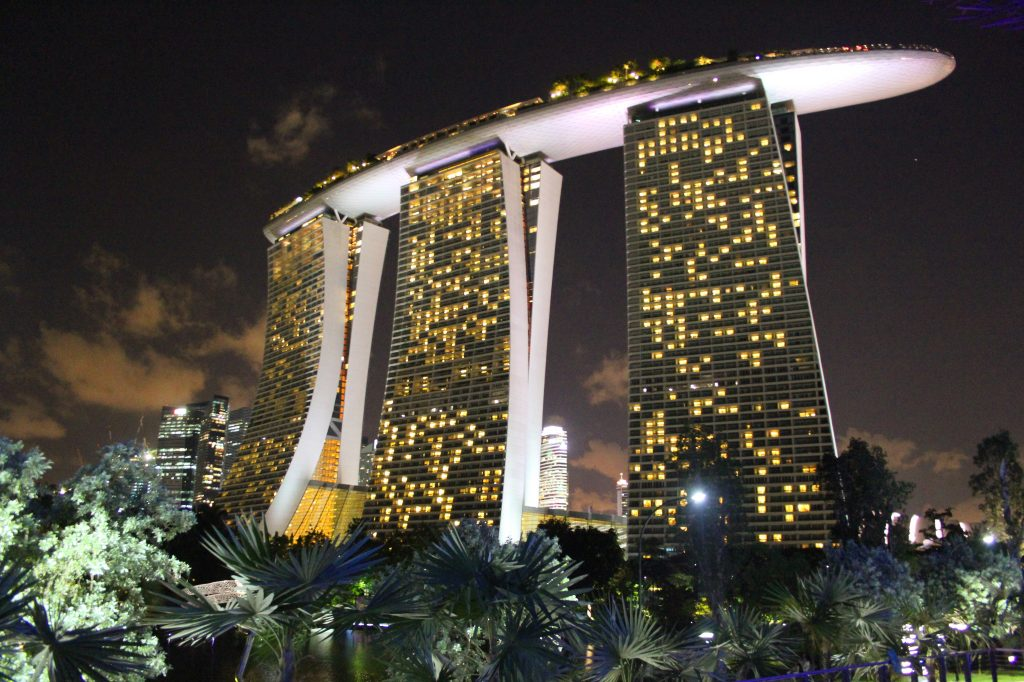 Marina Sands Bay, Singapur