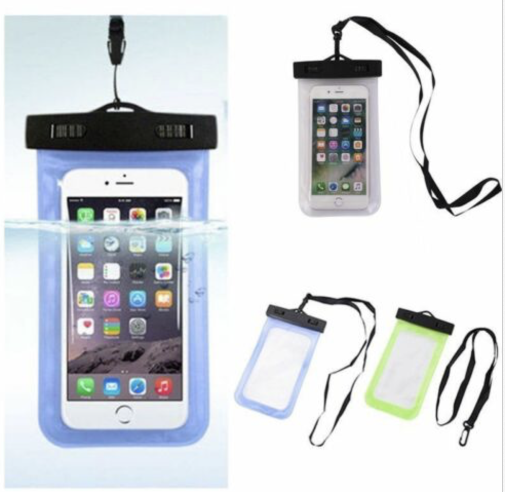 Water protection for smartphone travel